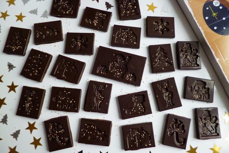 Calendrier de l'Avent chocolaté maison