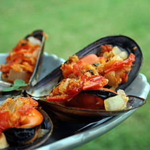 moules farcies