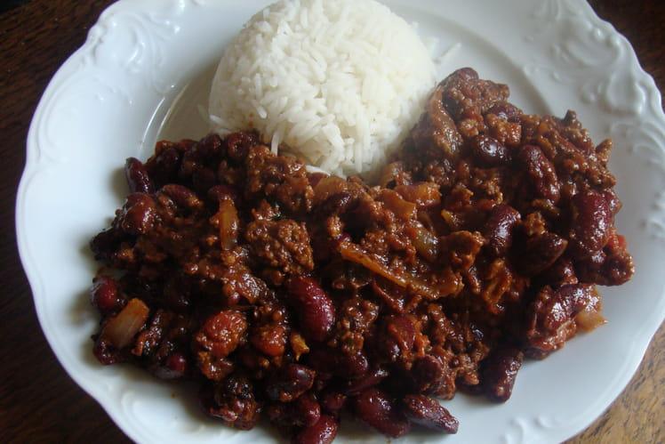 Chili con carne aux quatre épices