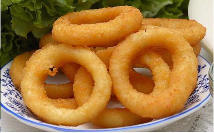 recette oignons en beignet onions rings la recette facile. Black Bedroom Furniture Sets. Home Design Ideas