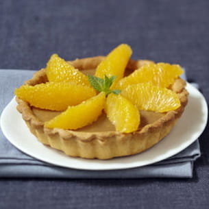 tartelettes orange, café et cannelle