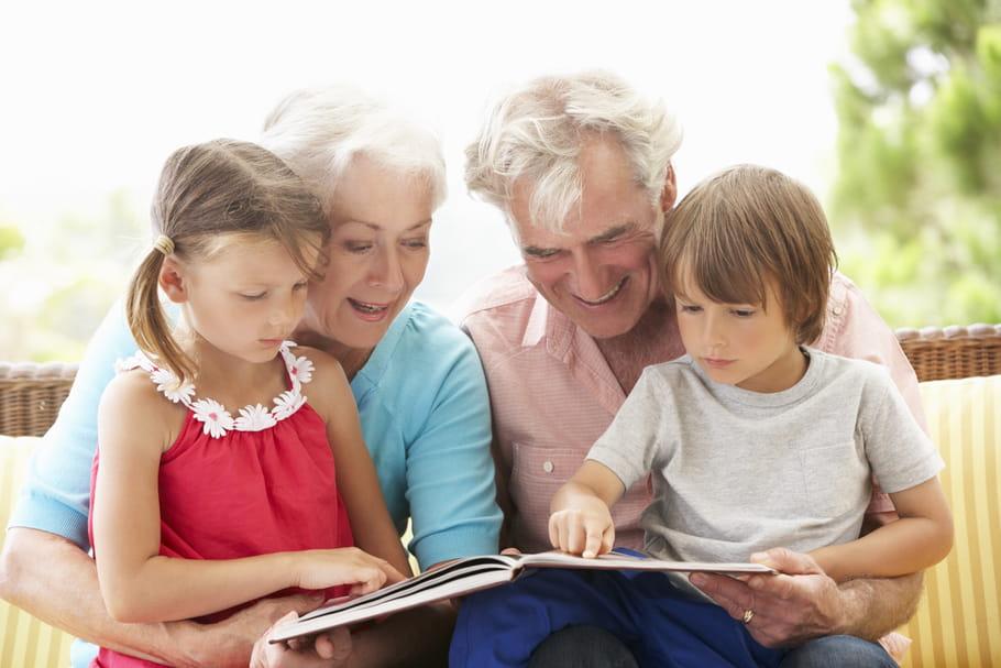 Grands-parents: quel rôle avec les parents, petits-enfants?