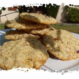 cookies au muesli fraise/yaourt.