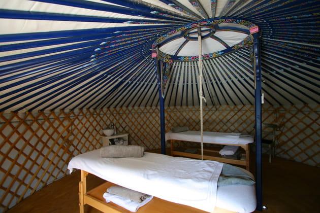 Une salle de massage mongole