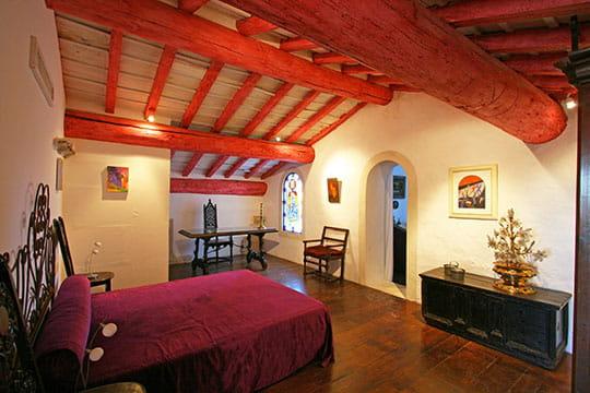 La chambre à la chapelle