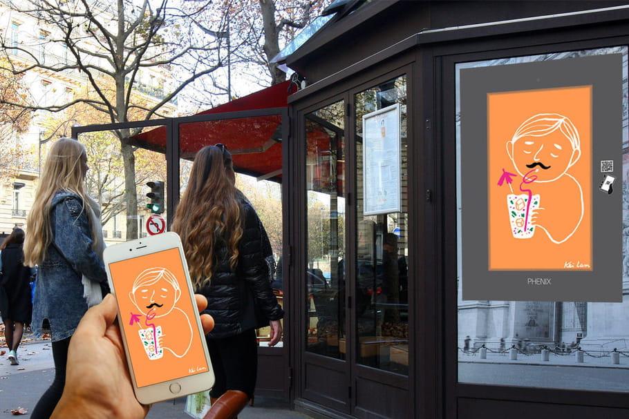 Une exposition de gifs anime les murs parisiens