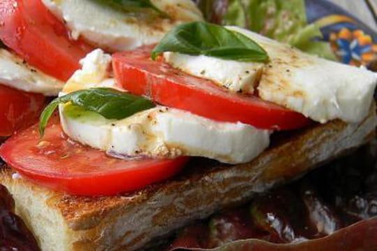 25 recettes tomate-mozzarella