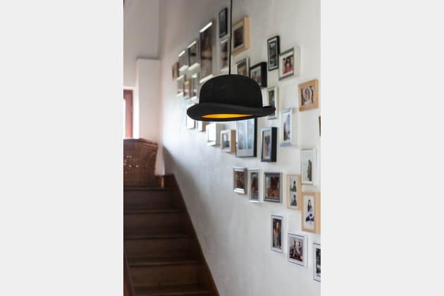Décor d'escalier