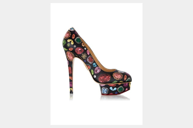 "Escarpins ""Dolly"" de Charlotte Olympia"