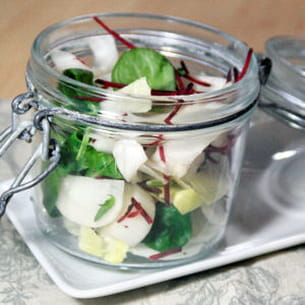 salade croquante 'à la diète'