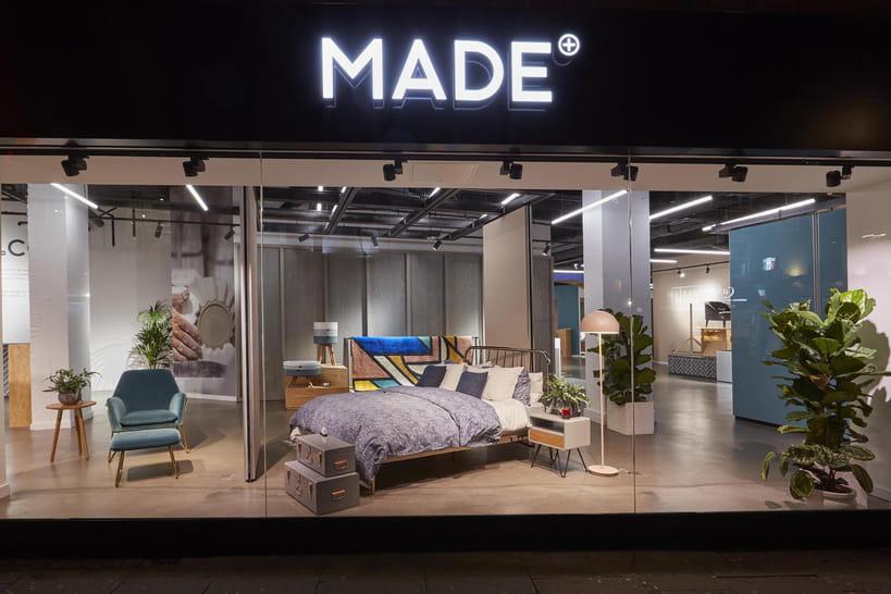 En images, le showroom londonien de Made.com dévoile son nouveau visage