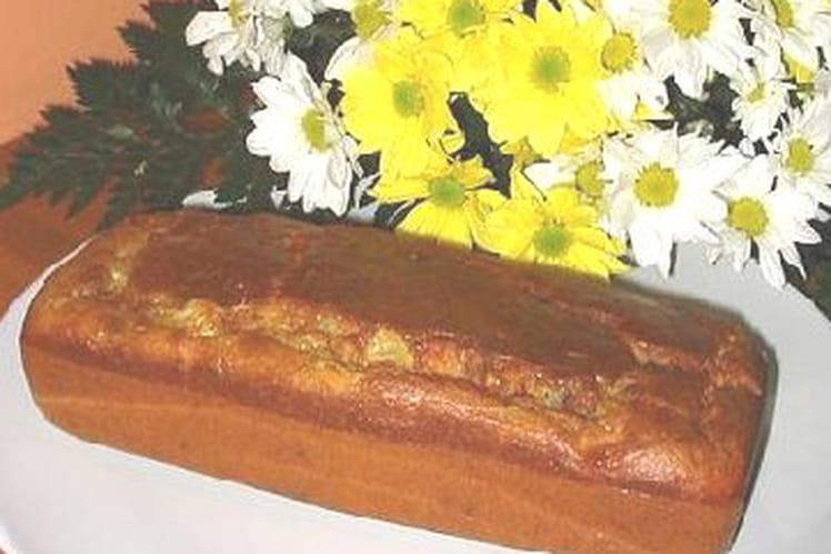 Cake au roquefort et aux noix