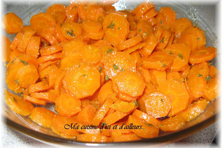 Salade de carottes marinées