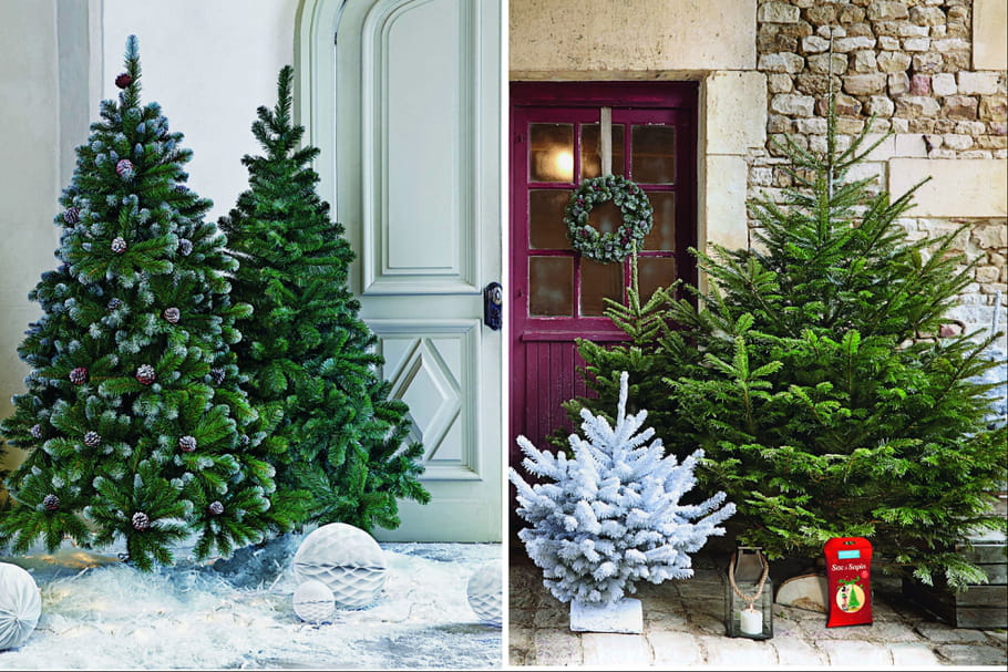 Sapin naturel VS sapin artificiel : lequel choisir ?