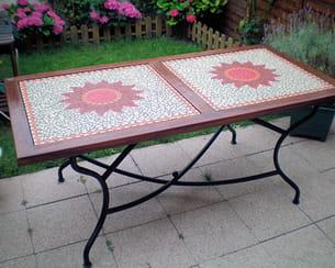 la table de jardin de valérie