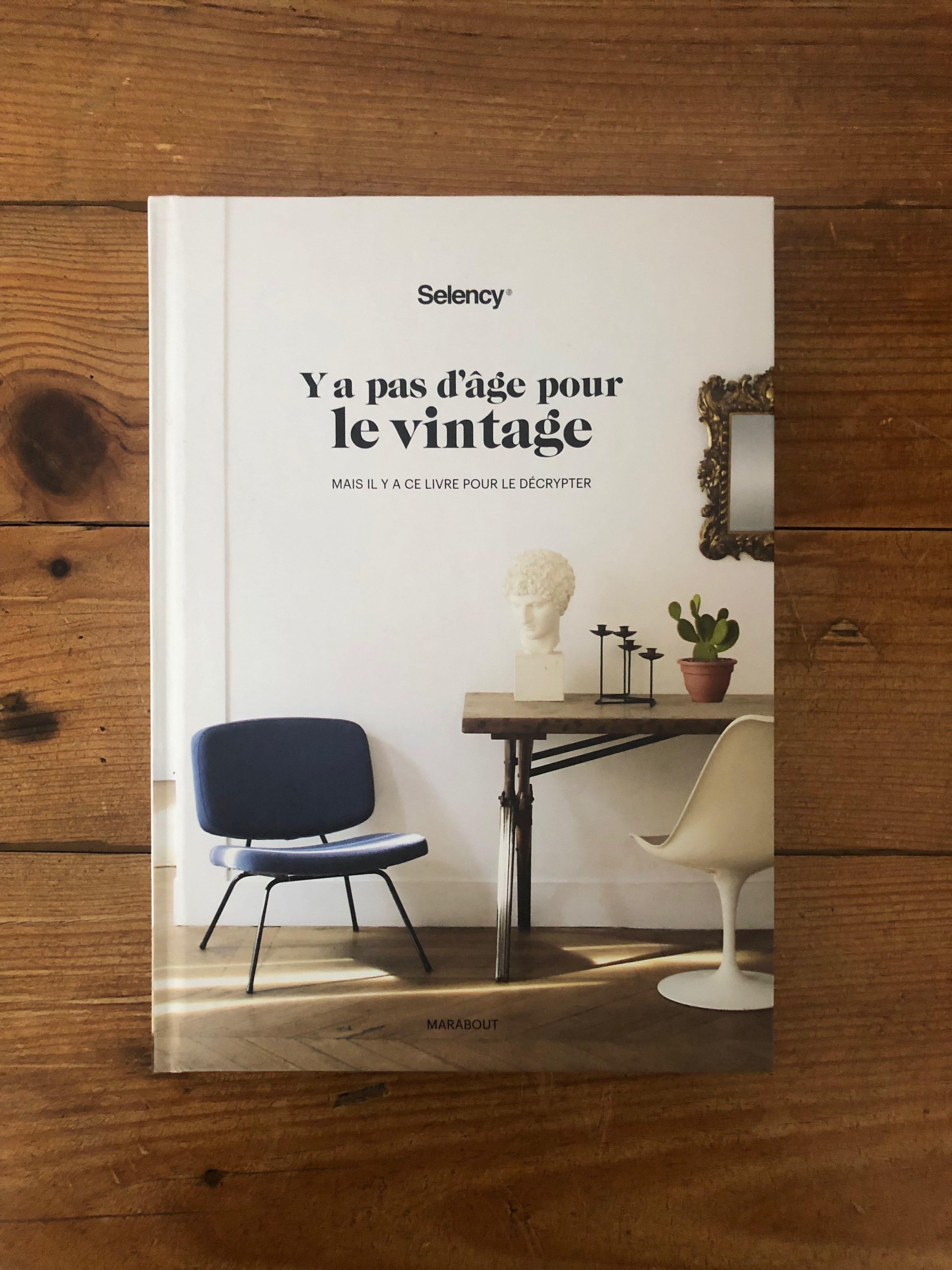 Brocante En Ligne Selency un livre sur la déco vintage par selency