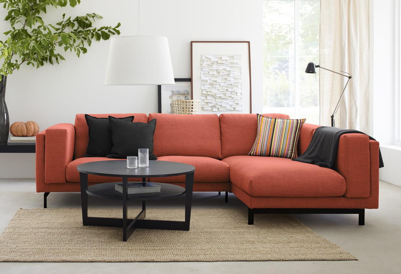 Canapé d'angle Nockeby chez IKEA