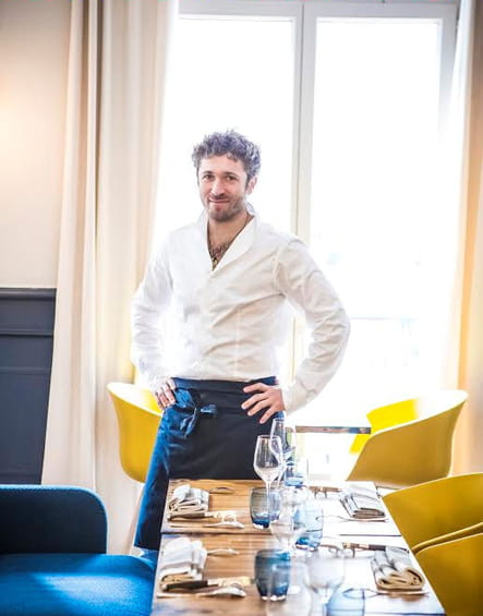 """Julien Duboué : """"Paul Bocuse, c'est de la vraie cuisine, sans esbrouffe"""""""