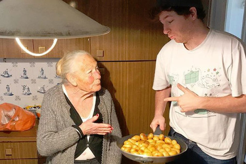 Jean Imbert ouvre un restaurant avec sa grand mère à Paris