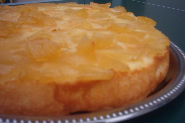 Biscuit de Savoie aux pommes
