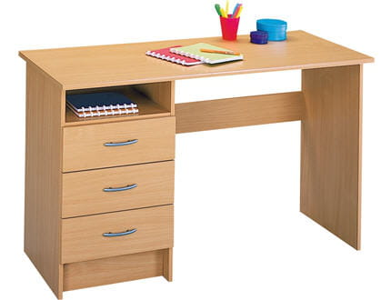 Un bureau traditionnel for Petit bureau simple