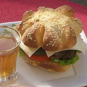burger à l'algérienne