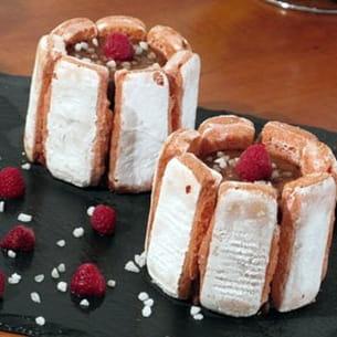 charlotte chocolat-framboise de lili