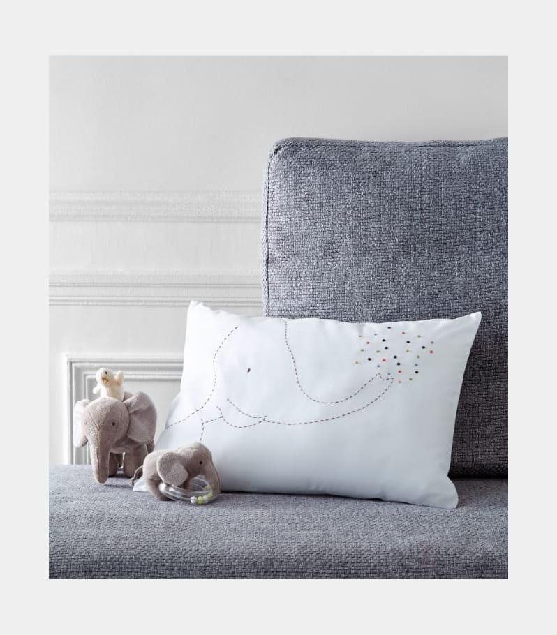 coussin zoo de vincennes par jacadi chambre de b b une d co mixte pour fille et gar on. Black Bedroom Furniture Sets. Home Design Ideas