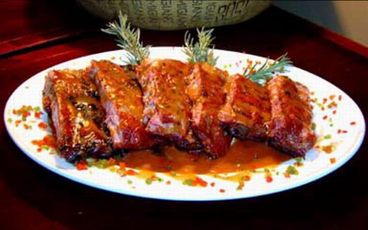 Travers de porc tex mex - Cuisiner travers de porc ...