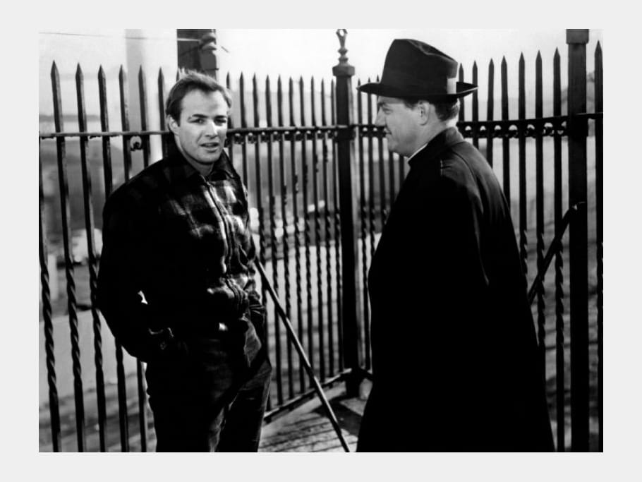 Mort Marlon Brando Sur les quais, 1954