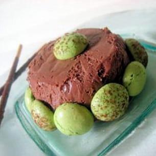 bavarois choco-pistaches