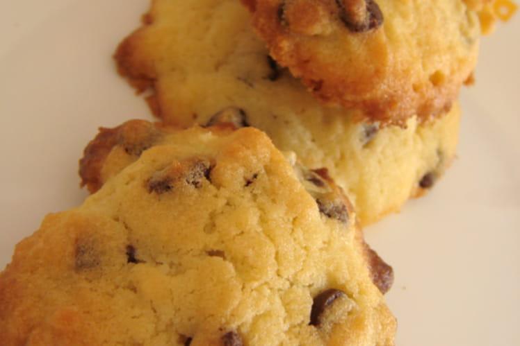 Cookies chocolat/noix/amandes