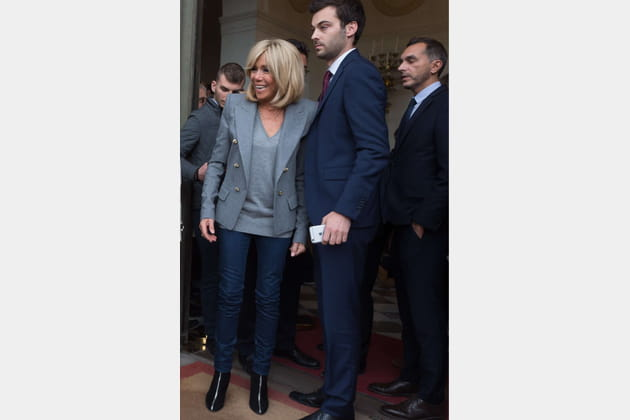 Brigitte Macron le 17septembre 2017