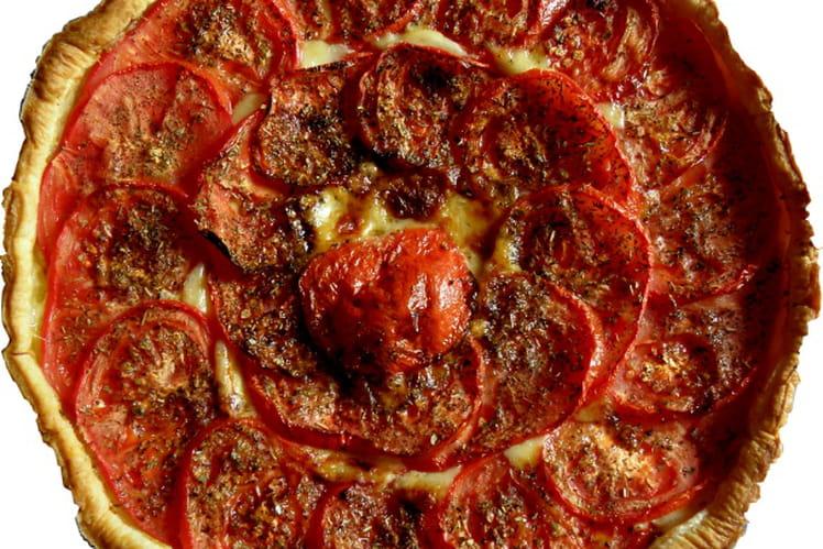 Tarte tomates et cantal