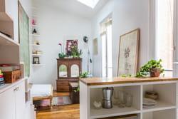 Une cuisine semi ouverte - Comment amenager sa cuisine ouverte ...