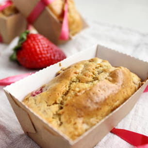 cake à la fraise - version allégée