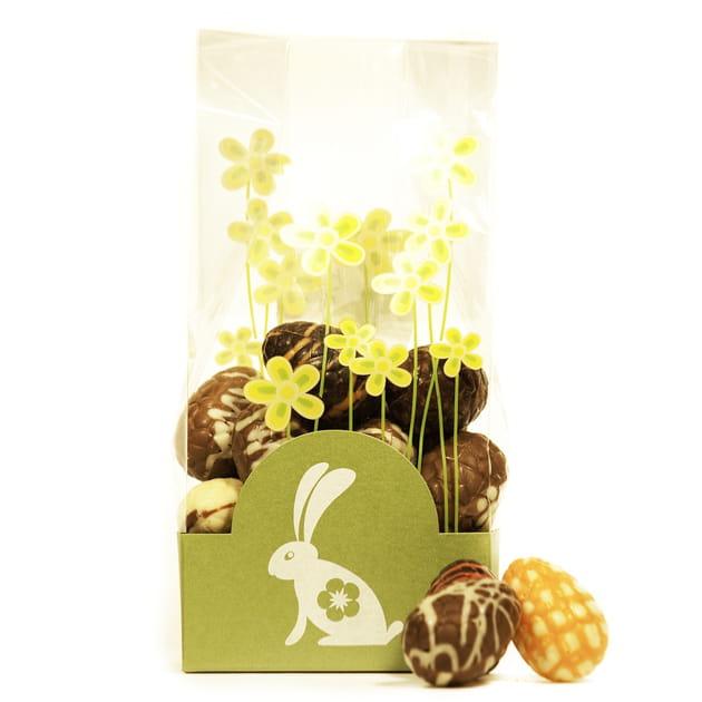 Sachet oeufs de Pâques de Planète Chocolat