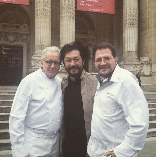 Pierre Sang, Alain Ducasse et David Rathgeber, trio de bon goût