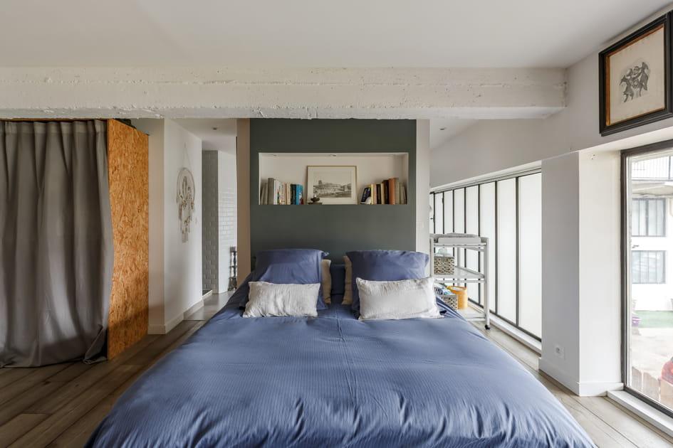 Une chambre dans un loft