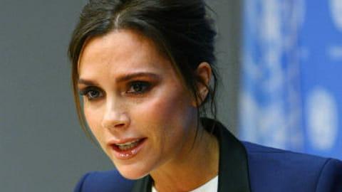 Victoria Beckham ONU sida