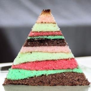 gâteau multi-couches facon lapis cake