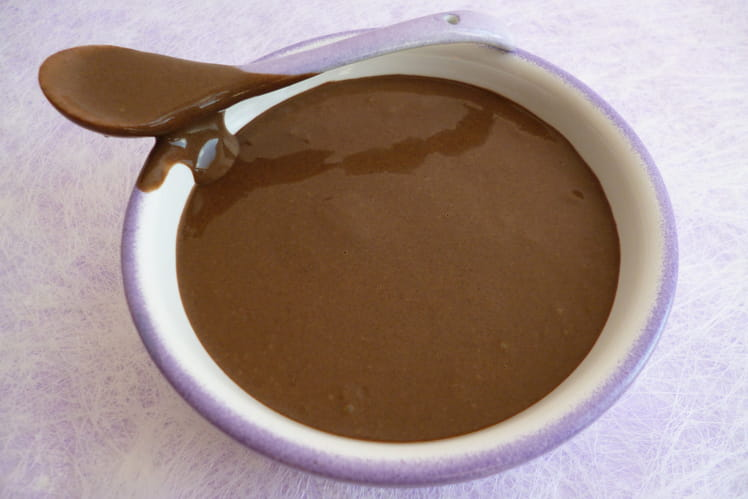 Crème dessert hyperprotéinée chanvre et chocolat