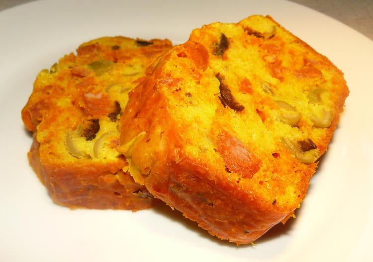 Cake Aux Olives Jambon Chorizo