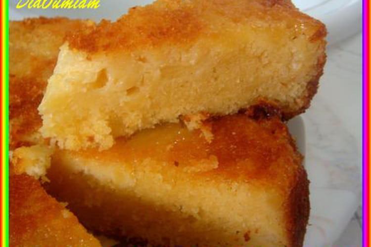 Gâteau à l'ananas, amande et noix de coco