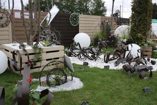 Jardin upcycling