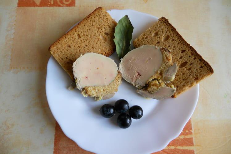 Foie gras au pain d'épices à ma façon