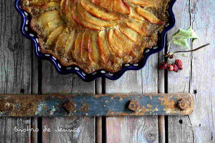 Gâteau aux pommes, vanille et cannelle