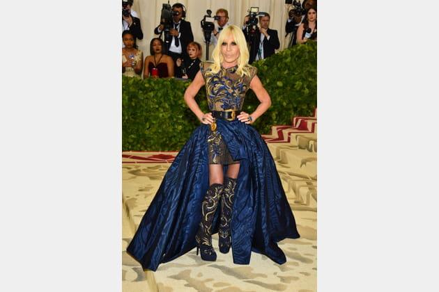 Donatella Versace en Atelier Versace