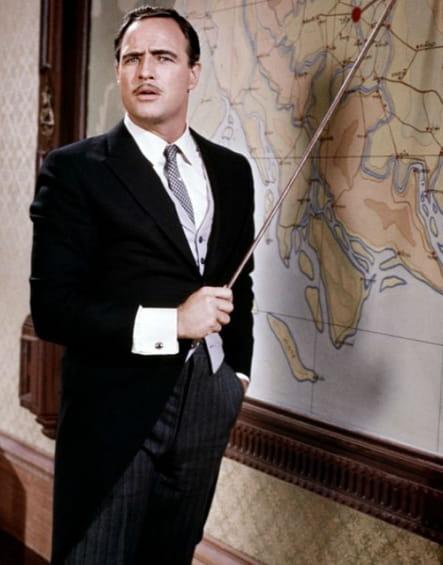 Mort Marlon Brando Le Vilain américain, 1963