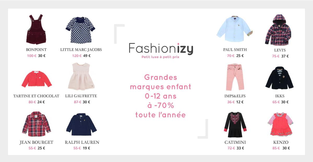 68251650ce711 Fashionizy   des vêtements de luxe à petits prix pour vos enfants